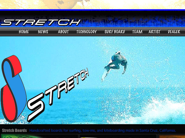 stretch (ストレッチ) SURFBOARDS