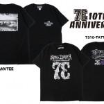 73R 10周年記念アイテム7月3日発売!