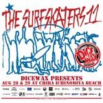 THE SURFSKATERS 11今週末、一宮海岸で開催!!