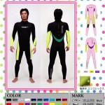 GLARE SURF SUITSが【限定】2mmジャージフルスーツをリリース