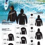 ZIP UPパーカー、長袖TEEシャツを10月30日から期間&着数限定で販売(CYBER)