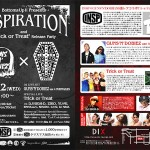 """INSP Bottoms Up!! """"Trick or Treat"""" Release Party☆Night 開催!"""