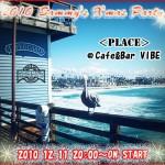 """SAMMY'S X'mas☆BIG NIGHT 2010 in@Cafe&Bar""""VIBE"""""""