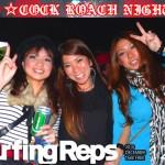 2010年度 COCK ROACH NIGHT コックローチ ナイトを掲載!