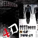 4Dimension ウェットスーツの2011春夏カタログをリリース