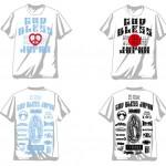 地震災害支援プロジェクト73RチャリティーTシャツ