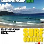 第29回全日本級別サーフィン選手権大会(2011)のヒート表決定!!!(NSA)
