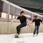 体験取材!スケートボード、フラットバンカーズ