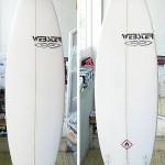 WEBSTER SURFBOARDSから、ニューモデルリリース!!(東京 ロコモコ)