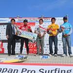 2011 JPSA 震災復興支援チャリティーツアー ショートボード第2戦 ALL JAPAN PRO新島 結果速報!
