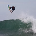 Mikey Wright flying with control EMERY SURFBOARDS