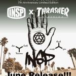 INSP7周年企画!INSP × THRASHERのコラボレーションが実現!