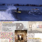 "glidz Wet Suits × LINK × ""Experimental Art Surf Shop"""