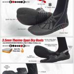 冬支度はできていますか?機能性ブーツ、グローブ、ヘッドキャップ&インナーのご紹介