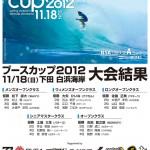 ブースカップ2012 大会結果