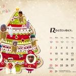 12月クリスマスカレンダー配信 !! EQUIS Original Wallpaper