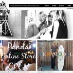 Panda Surfboards ショッピングサイト グランド・オープンのお知らせ!!