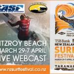 TSB Bank NZ Surf Festival 開催中