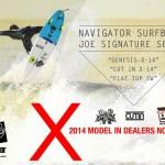 NGR SURFBOARDが2014年モデルのムービーリリース&オーダーフェア開催