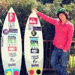 私のサーフボード:高橋健人 [プロサーファー]