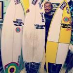 私のサーフボード:坂田良輔 [サーフィン歴38年の東京サーファー]
