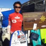 KARMA BB WETSUITSプロライダー 「KPS PRO ISUMI SURF TOWN FESTA 2014」大会結果
