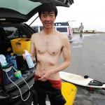 サーフィン雑学:ウェットスーツの簡単な洗い方