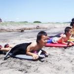 キッズサマースクール@千葉 夏限定サーフィン&ボディボードの子供教室