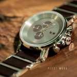 VESTAL WATCH:Vestal Plexi Wood