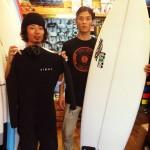 サーフィンビギナー最適!!レッスン付ボードセット(東京 バース本店、埼玉 バース南浦和店)