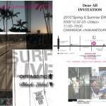 OPTIMISTIC&BLACK LABEL の展示会が中目黒にて開催!